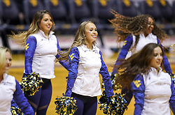 Nov 28, 2018; Morgantown, WV, USA; The West Virginia Mountaineers dance team performs during the second half against the Rider Broncs at WVU Coliseum. Mandatory Credit: Ben Queen-USA TODAY Sports