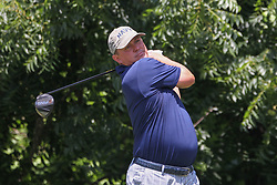 May 25, 2018 - Fort Worth, TX, U.S. - FORT WORTH, TX - MAY 25: Jason Dufner (USA) hits from the 6th tee during the second round of the Fort Worth Invitational on May 25, 2018 at Colonial Country Club in Fort Worth, TX. (Photo by George Walker/Icon Sportswire) (Credit Image: © George Walker/Icon SMI via ZUMA Press)