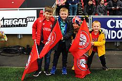 Flag Bearers- Mandatory by-line: Nizaam Jones/JMP - 23/11/2019 - FOOTBALL - Ashton Gate - Bristol, England - Bristol City v Nottingham Forest - Sky Bet Championship