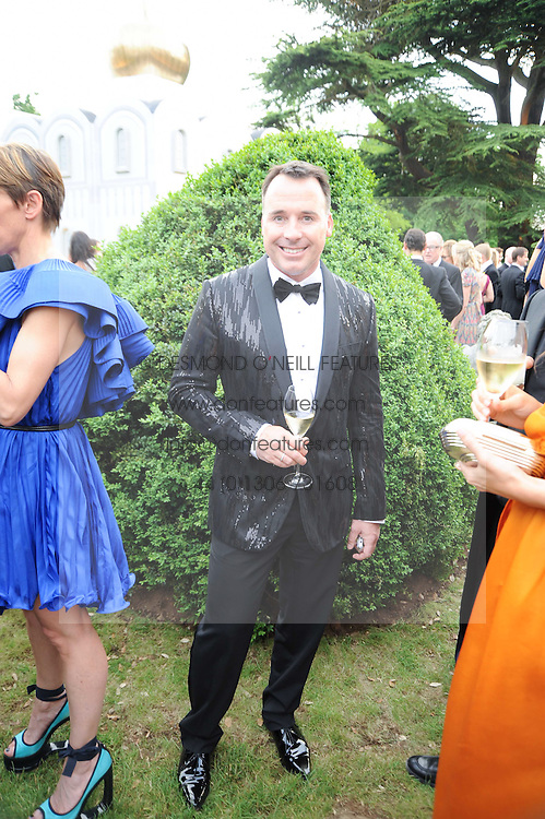 DAVID FURNISH at the Raisa Gorbachev Foundation Party held at Stud House, Hampton Court Palace on 5th June 2010.  The night is in aid of the Raisa Gorbachev Foundation, an international fund fighting child cancer.