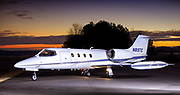 Lear 35 N89TC and Gulfstream G3 photo shoot for Asheville Air Charter & Jet Maint.