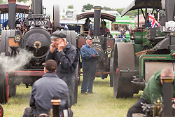 &copy; Licensed to London News Pictures. 29/05/17  ALTRINCHAM ,GREATER MANCHESTER,UK.  <br /> <br /> Ashley Hall Traction Engine Rally today (Monday 29th May 2017). The rally , hosted at Ashley Hall for the third year running , took place over the bank holiday weekend from Saturday 27th May until Sunday 29th May.<br />   <br /> Photo credit: CHRIS BULL/LNP
