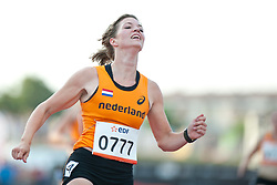 van RHIJN Marlou, NED, 100m, T54, 2013 IPC Athletics World Championships, Lyon, France