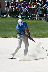 April 12, 2018 - Hilton Head Island, South Carolina, U.S. - HILTON HEAD ISLAND, SC - APRIL 12: Dustin Johnson, during the first round of the RBC Heritage on April 12, 2018 at Harbour Town Golf Links in Hilton Head Island, SC. (Photo by Theodore A. Wagner/Icon Sportswire) (Credit Image: © Theodore A. Wagner/Icon SMI via ZUMA Press)