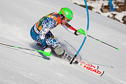 12.12.2010, The Bellevarde race piste, Val D Isere, FRA, FIS World Cup Ski Alpin, Men, Slalom, im Bild LIGETY Ted USA   attacks a control gate whilst competing in the FIS alpine skiing world cup slalom race on the Bellevarde race piste Val D'Isere. EXPA Pictures © 2010, PhotoCredit: EXPA/ M. Gunn