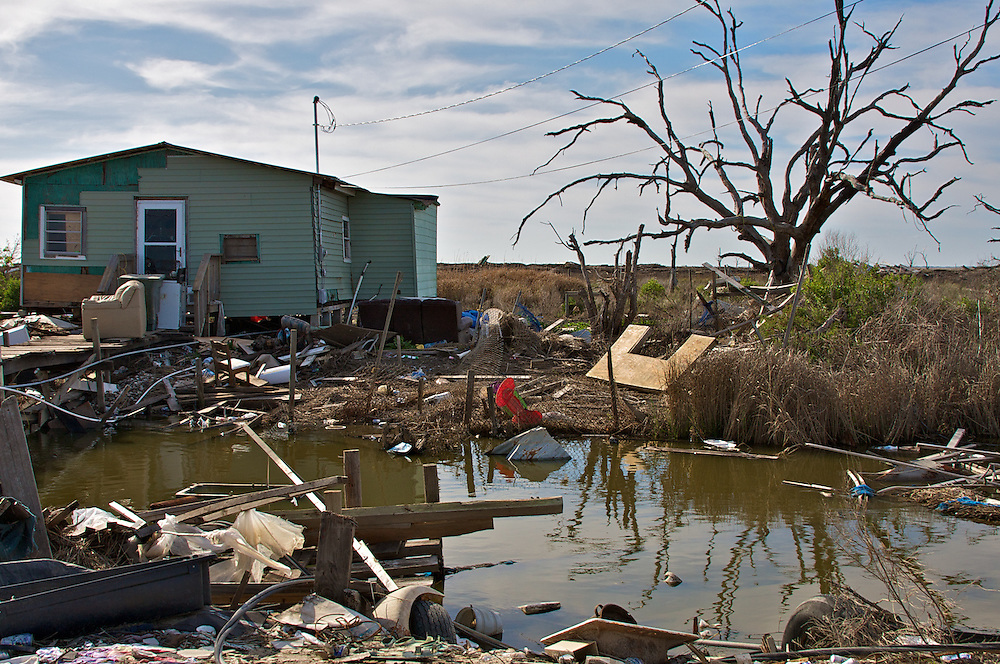 Isle de Jean Charles, LA -- After 2008 Hurricane Season