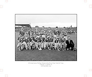 Neg No:.598/8141-8144...1954AIJHCF2...12.09.1954, 09.12.1954, 12th September 1954...All Ireland Junior Hurling Championship - Home Final..Limerick.3-5.Antrim.1-8..Limerick. ..P. Cunneen (goal), J. OSullivan, Jim Keogh, P. ONeill, J. Dooley, S. Murphy, Jim Quaid, Jack Quaid, W. Dooley, A. Raleigh, M. Carmody (Captain), V. Cobbe, M. Sheehan, C. Daly, J. Barry. .M. Carmody (Captain).P. Cunneen (goal)..London. .E. Moloney, P. Murphy, K. Naughton, M. Butler, M. Lyons, W. Brophy (Captain), M. Fortune, S. Costelloe, Joe Duggan, T. Morrissey, S. OSullivan, D. Bransfield, M. Conway, P. Stapleton, S. Marmion.Subs: P. Cleary for M. Fortune, J. Barry for S. Marmion.W. Brophy (Captain).