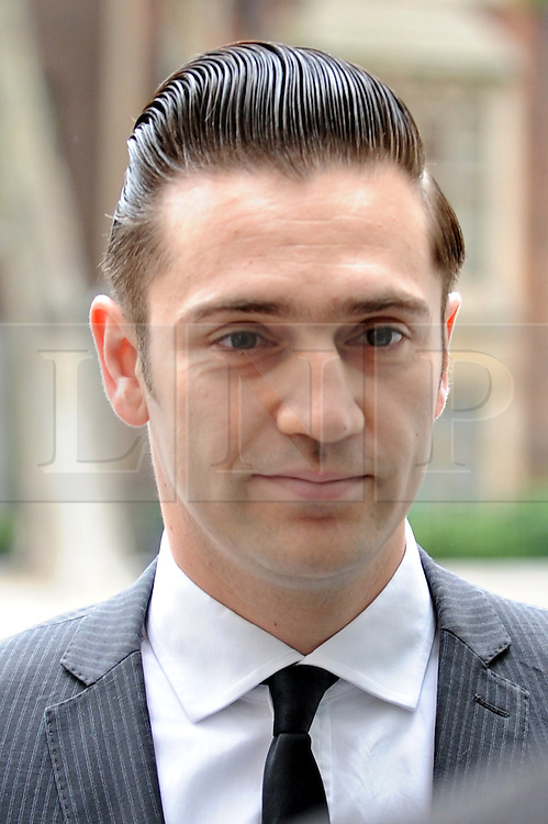 © Licensed to London News Pictures. 17/07/2012. London,Britain. Amy Winehouse's boyfriend Reg Traviss arrives to make his first court appearance charged with two counts of rape at Westminster Magistrates Court .  Photo credit : Thomas Campean/LNP