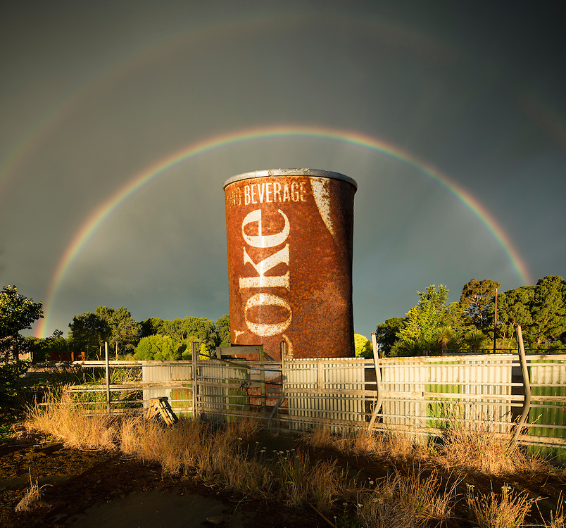 Did anyone else catch the spectacular rainbow/sunset over Christchurch last evening?