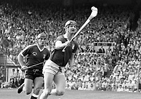 986-144 Cork v. Galway All-Ireland Senior Hurling Final. 7/9/86 Picture Tom Burke (Part of Independent Newspapers Ireland/NLI Collection)
