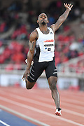 Jeff Henderson aka Jeffrey Henderson (USA) places third in the long jump at 26-6½ (8.09m) during the Bauhaus-Galan in a IAAF Diamond League meet at Stockholm Stadium in Stockholm, Sweden on Thursday, May 30, 2019. (Jiro Mochizuki/Image of Sport)