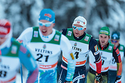 27.11.2016, Nordic Arena, Ruka, FIN, FIS Weltcup Langlauf, Nordic Opening, Kuusamo, Herren, im Bild Niklas Dyrhaug (NOR) // Niklas Dyrhaug of Norway during the Mens FIS Cross Country World Cup of the Nordic Opening at the Nordic Arena in Ruka, Finland on 2016/11/27. EXPA Pictures © 2016, PhotoCredit: EXPA/ JFK