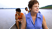 Gina Low of Apeca on the Amazon River, Peru