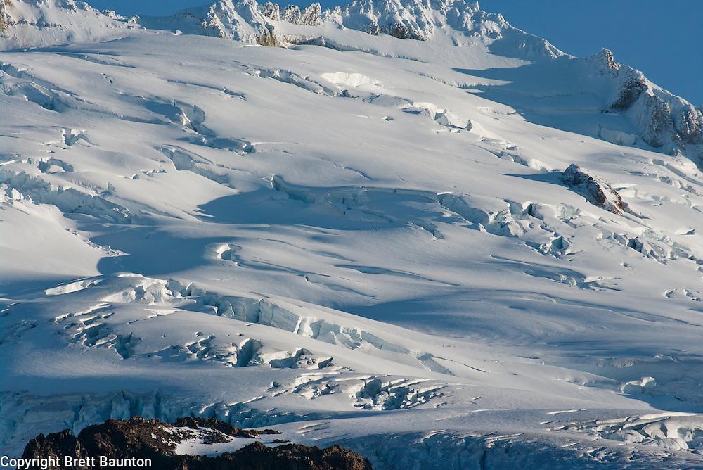Easton Glacier; Mt. Baker; Pacific NW; WA; Wilderness,