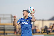Eastleigh FC Defender Michael Green during the Vanarama National League match between Southport and Eastleigh at the Merseyrail Community Stadium, Southport, United Kingdom on 17 December 2016. Photo by Pete Burns.