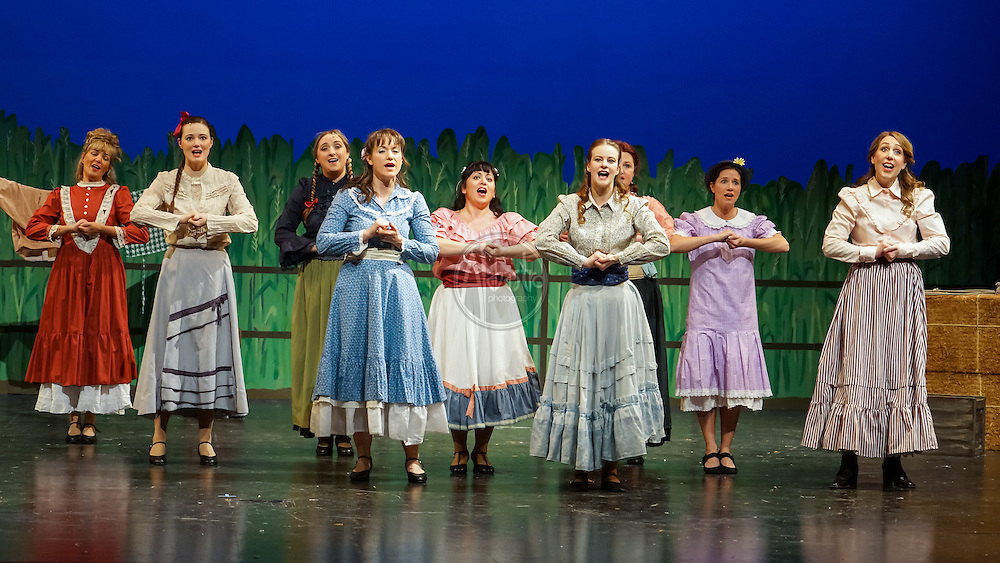 Woodland Park Players production of Oklahoma, March 2016. Photo by Alabastro Photography.