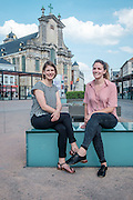 "Mechelen. Sofie en Anneleen openen begin 2017 ""Kabas"" in de Keizerstraat."