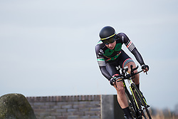 Lorena Wiebes (NED) at Healthy Ageing Tour 2018 - Stage 1, an 8km individual time trial in Heerenveen on April 4, 2018. Photo by Sean Robinson/Velofocus.com