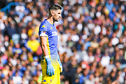 Leeds United goalkeeper Francisco Casilla (13) during the EFL Sky Bet Championship match between Leeds United and Swansea City at Elland Road, Leeds, England on 31 August 2019.