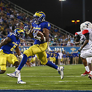 NCAA FOOTBALL 2016 - SEPT 1 - Delaware defeats Delaware State 56-14