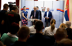 Reception of Women's Eurobasket 2019 teams and FIBA officials at Darko Bulatović, Mayor of City of Nis, on June 29, 2019 in City hall, Nis, Serbia. Photo by Vid Ponikvar / Sportida