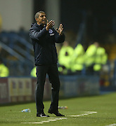 Brighton Manager, Chris Hughton during the Sky Bet Championship match between Sheffield Wednesday and Brighton and Hove Albion at Hillsborough, Sheffield, England on 3 November 2015.