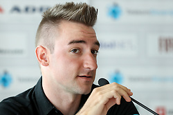 Elia Viviani of Team SKY during press conference of cycling race Po Sloveniji - Tour de Slovenie 2015 on June 15, 2016 in Hotel Jama, Postojna, Slovenia. Photo by Morgan Kristan / Sportida