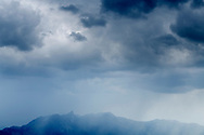 Rain over the Stockhorn, Niederhorn, Interlaken, Berne, Switzerland