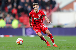 Jamie Paterson of Bristol City in action - Rogan Thomson/JMP - 22/10/2016 - FOOTBALL - Ashton Gate Stadium - Bristol, England - Bristol City v Blackburn Rovers - Sky Bet EFL Championship.