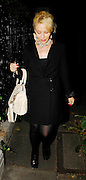 27.SEPTEMBER.2007. LONDON<br /> <br /> KYLIE MINOGUE LEAVING NOBU, PARK LANE AT 11.00PM AFTER HAVING DINNER WITH A FRIEND AND THEN RETURNING HOME WITH A SCARF ROUND HER NECK.<br /> <br /> BYLINE: EDBIMAGEARCHIVE.CO.UK<br /> <br /> *THIS IMAGE IS STRICTLY FOR UK NEWSPAPERS AND MAGAZINES ONLY*<br /> *FOR WORLD WIDE SALES AND WEB USE PLEASE CONTACT EDBIMAGEARCHIVE - 0208 954 5968*