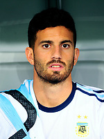 Conmebol - World Cup Fifa Russia 2018 Qualifier / <br /> Argentina National Team - Preview Set - <br /> Mateo Pablo Musacchio