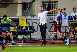 Simon Rozman, head coach during 2nd leg football match between NK Domzale and NK Siroki Brijeg in 1st Qualifying round of UEFA Europa League, on July 19, 2018 in Domzale Sports Park, Domzale, Slovenia. Photo by Ziga Zupan / Sportida