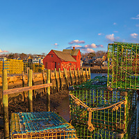 New England photography of the iconic red fishing shack Motif Number 1 in Rockport, MA on Cape Ann at sunset. This historic Massachusetts landmark is known throughout New England as Motif #1, so called because it is the most often painted building in America.<br /> <br /> New England photography image artwork of Rockport Harbor and Motif #1 is available as museum quality photography prints, canvas prints, acrylic prints, wood prints or metal prints. Prints may be framed and matted to the individual liking and decorating needs:<br /> <br /> https://juergen-roth.pixels.com/featured/iconic-massachusetts-landmark-motif-number-1-juergen-roth.html<br /> <br /> Good light and happy photo making!<br /> <br /> My best,<br /> <br /> Juergen<br /> Photo Prints & Licensing: http://www.rothgalleries.com<br /> Photo Blog: http://whereintheworldisjuergen.blogspot.com<br /> Instagram: https://www.instagram.com/rothgalleries<br /> Twitter: https://twitter.com/naturefineart<br /> Facebook: https://www.facebook.com