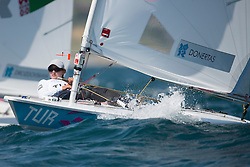 2012 Olympic Games London / Weymouth<br /> Racing day 1 Laser<br /> Laser RadialTURDonertas Cagla