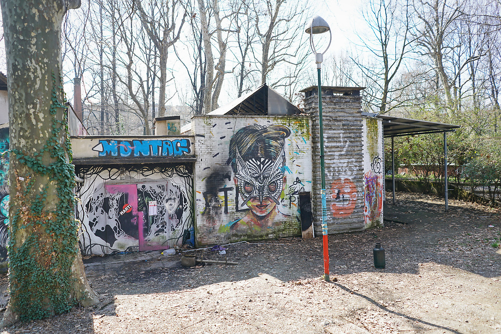 Torino Aprile 2018, Ex Zoo  Parco Michelotti