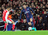 Football - 2016 / 2017 UEFA Champions League - Group A: Arsenal vs. Paris Saint-Germain<br /> <br /> Maxwell of PSG at The Emirates.<br /> <br /> COLORSPORT/ANDREW COWIE