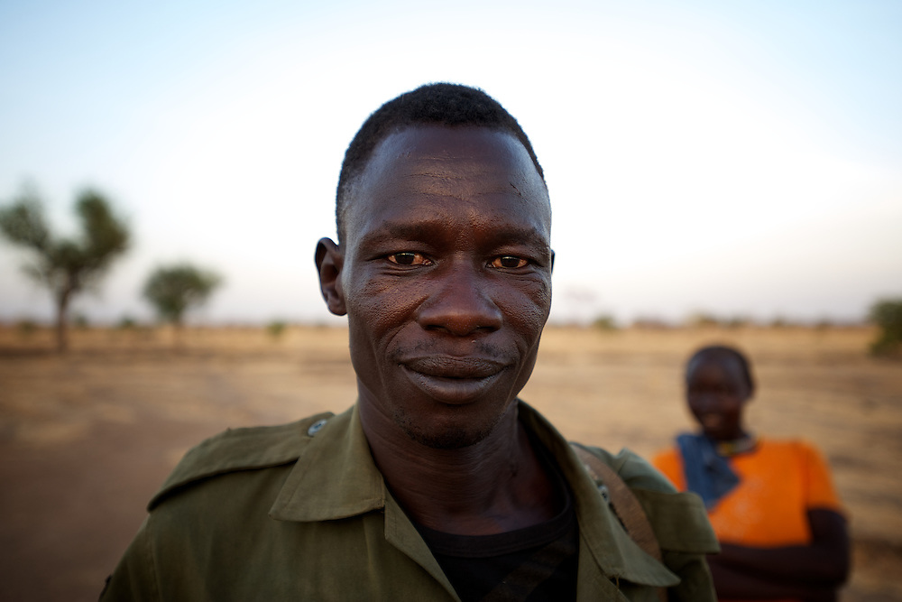 April 27, 2012 - Buram, Nuba Mountains, South Kordofan, Sudan: Portrait of a Sudan People?s Liberation Movement (SPLA-N) rebel fighter in the stronghold area of Buram, South Kordofan...SPLA-North, a historical ally of SPLA, South Sudan's former rebel forces, has since last June being fighting the Sudanese Army Forces (SAF) over the right to autonomy and of the end of persecution of Nuba people by the regime of President Bashir. (Paulo Nunes dos Santos/Polaris)