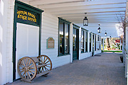 Historic Mattei's Tavern on the old Wells Fargo stage coach route, Los Olivos, California