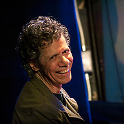 """November 3, 2012 - New York, NY : Jazz pianist Armando Anthony """"Chick"""" Corea acknowledges the audience as he performs at the Blue Note jazz club on Saturday night. CREDIT: Karsten Moran for The New York Times"""