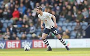 Preston North End Defender Paul Huntington (23) during the Sky Bet Championship match between Preston North End and Brighton and Hove Albion at Deepdale, Preston, England on 5 March 2016.