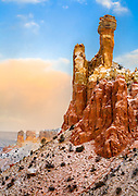 Chimney Rock at Ghost Ranch in New Mexico.