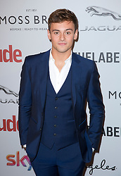 Tom Daley attends the Attitude Pride Awards 2016 at The Grand At Trafalgar Square, central London. Monday October 10, 2016. Photo credit should read: Isabel Infantes / EMPICS Entertainment.