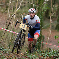 Ronan O'Flynn competing in the CX Cyclocross Race in Lees Rd
