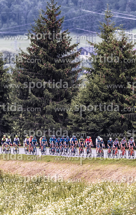 11.07.2019, Kitzbühel, AUT, Ö-Tour, Österreich Radrundfahrt, 5. Etappe, von Bruck an der Glocknerstraße nach Kitzbühel (161,9 km), im Bild Peloton // Peloton during 5th stage from Bruck an der Glocknerstraße to Kitzbühel (161,9 km) of the 2019 Tour of Austria. Kitzbühel, Austria on 2019/07/11. EXPA Pictures © 2019, PhotoCredit: EXPA/ JFK
