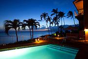 Napili Kai Resort, Sunset, Napili Bay, Maui, Hawaii