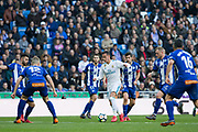 Real Madrid's Spanish forward Lucas Vazquez during the Spanish championship Liga football match between Real Madrid and Alaves on february 24, 2018 at Santiago Bernabeu Stadium in Madrid, Spain - Photo Rudy / Spain ProSportsImages / DPPI / ProSportsImages / DPPI