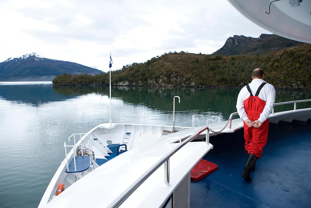 Cruise ship, Patagonia, Chile