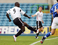 Photo: Chris Ratcliffe.<br />Millwall v Charlton Athletic. Pre Season Friendly. 22/07/2006.<br />Jimmy Floyd Hasselbaink of Charlton scoring his first half goal.