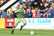 Forest Green Rovers Liam Kitching(20) runs forward during the EFL Sky Bet League 2 match between Cambridge United and Forest Green Rovers at the Cambs Glass Stadium, Cambridge, England on 7 September 2019.