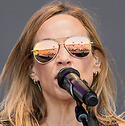 Sheryl Crow plays the Pyramid Stage - The 2019 Glastonbury Festival, Worthy Farm, Glastonbury.